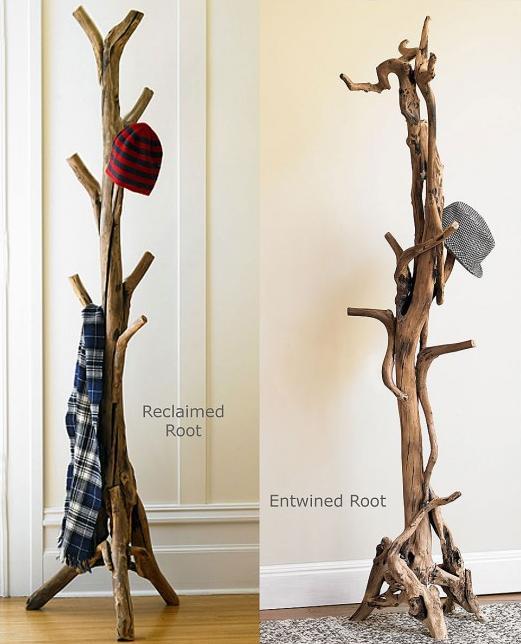 Вешалки напольные из дерева своими руками