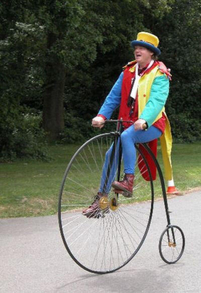 цирковые велосипеды картинки