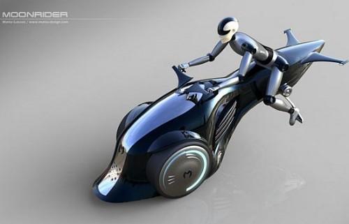 20 оригинальных концептов велосипедов и скутеров