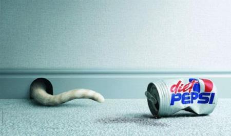 Креативная реклама Pepsi