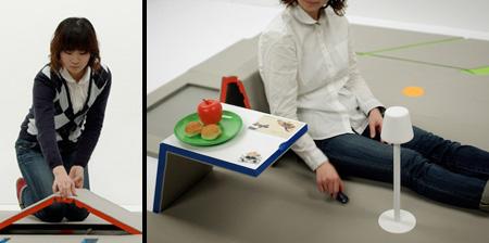 Современный коврик-мебель