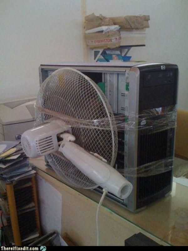 Ремонт вентилятора пк своими руками