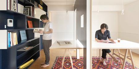 Квартира с выдвижными стенами