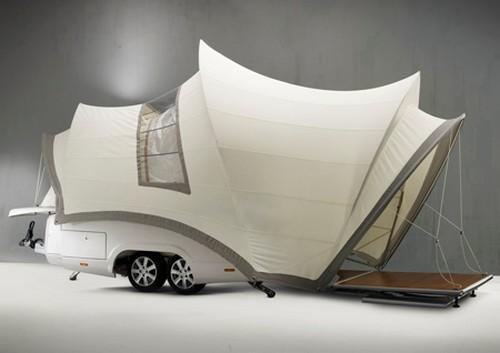 Дома на колесах в стиле хай-тек