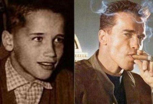 Знаменитости: в молодости и сейчас