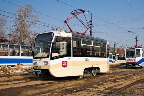 В Москве запущен экспериментальный мини-трамвай