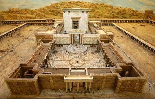 Макет храма Ирода