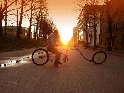 Странные велосипеды