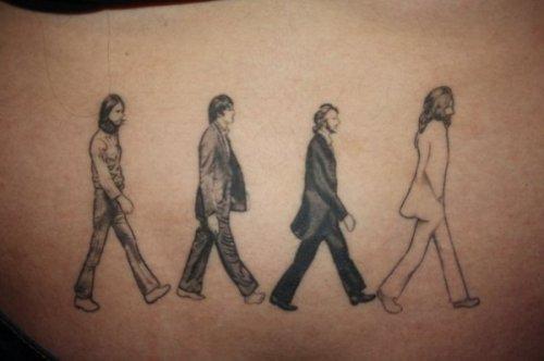 Побдорка татуировок на музыкальную тему