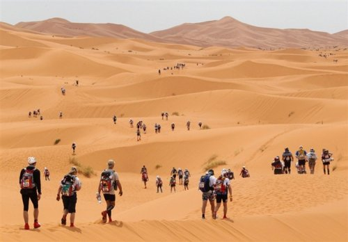 Песчаный марафон по Сахаре