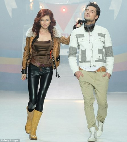 Анна Чапман дебютировала на показе мод в Москве