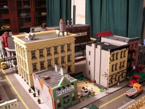 Бруклин из LEGO