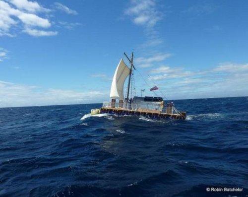 Пересечь Атлантику на самодельном паруснике