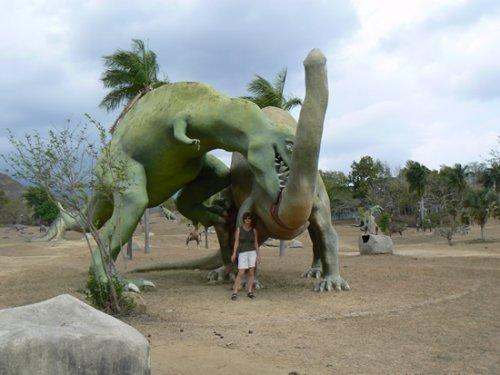 Парк Юрского периода на Кубе