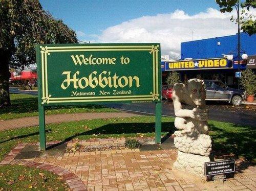 Хоббитон - новая достопримечательность Новой Зеландии