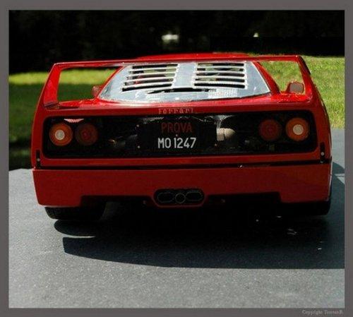 Мини-реплика Ferrari F40