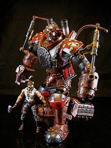 Стимпанк-статуэтка Железного человека