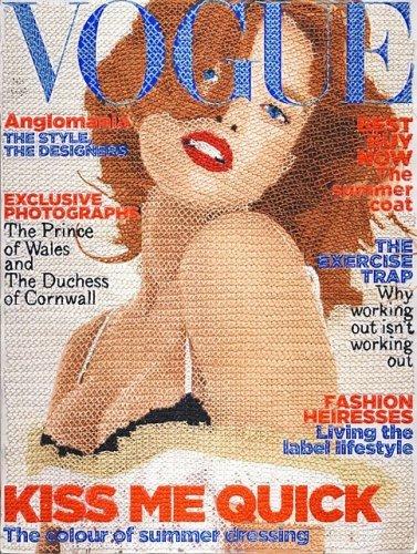 Вышитый Vogue от Инге Якобсен