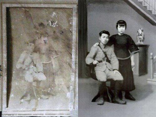 Реставрация с помощью фотошопа