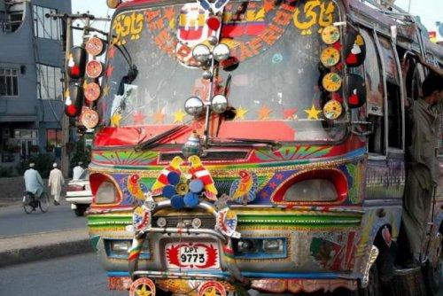 Тюнинг пакистанских автомобилей