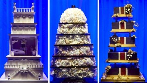 Торты для королевской свадьбы