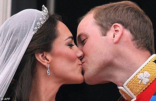 Первые фотографии со свадьбы Принца Уильяма и Кейт Миддлтон