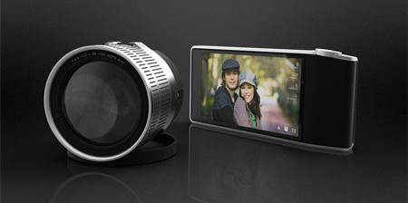 Фотокамера с беспроводным объективом