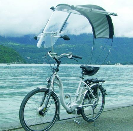 Велосипед с крышей своими руками