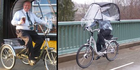 Крыша для твоего велосипеда