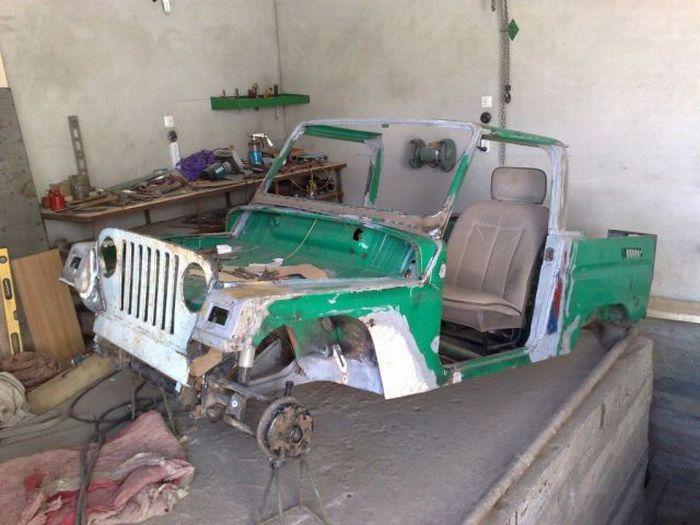 Реставрация машины своими руками 91