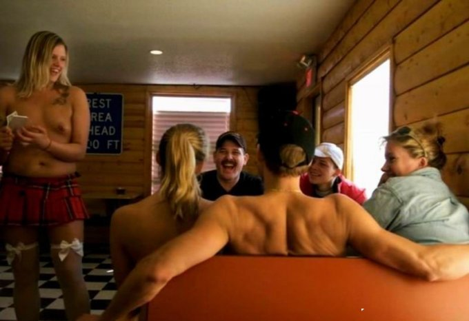 Every topless nudity-fueled coffee staff shop