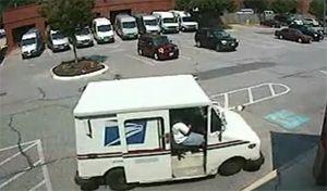 Фейл с почтовым фургоном