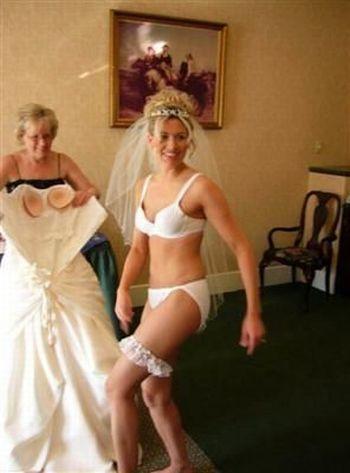 невесты в одежде и совсем голые фото