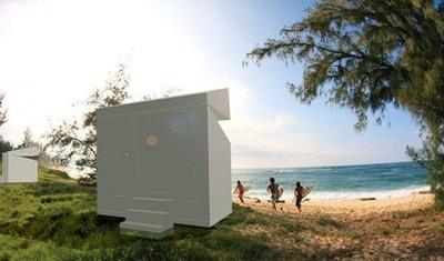 Концептуальный домик для бездомных