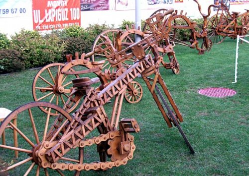 Велосипеды из дерева от Славомира Веремковича