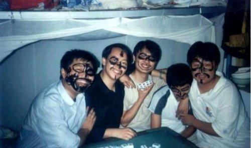 Азиатские студенты