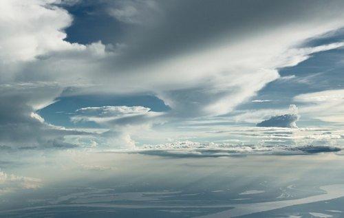 Облака на высоте 6 километров
