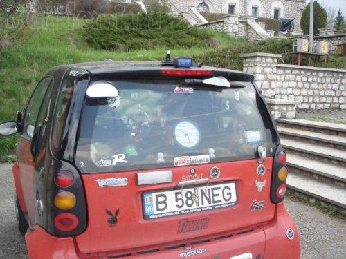 Румынский тюнинг Smart
