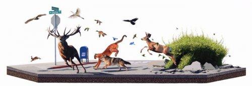 Природа и человек в картинах Джоша Кейса