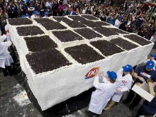 Самое большой торт в мире