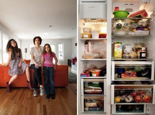 """Серия фотографий """"В твоем холодильнике"""""""