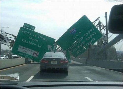 Странные аварии