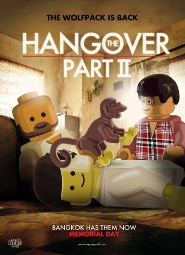 Креативные постеры в стиле LEGO