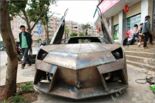 Как сделать Lamborghini из старенького Ниссана