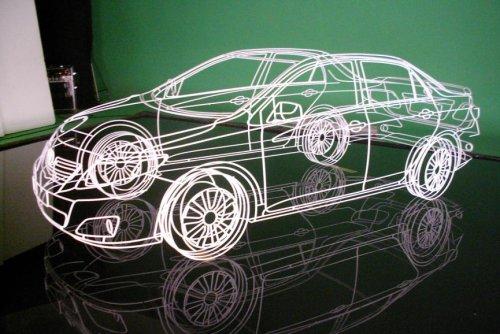 Модели автомобилей из проволоки