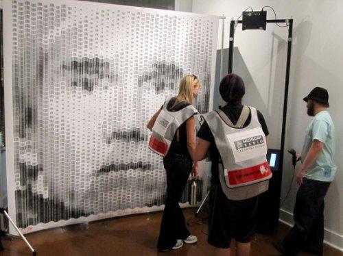Штрих-код портреты