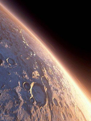 Красивые виды Марса