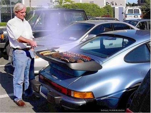 Машины и барбекю