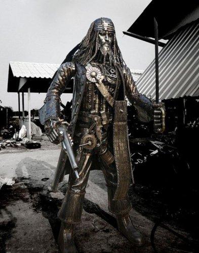 Скульптура Джека Воробья