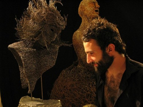 Скульптуры из проволоки от Маттиа Тротта